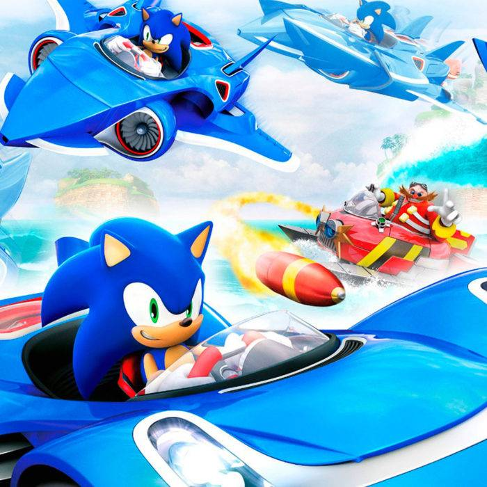 TEAM SONIC RACING E3 TRAILER