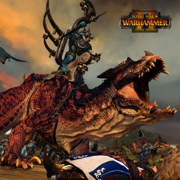 TOTAL WAR: WARHAMMER II – LIZARDMEN IN-ENGINE TRAILER